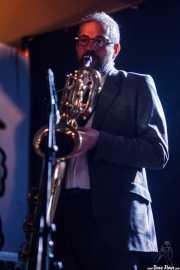 Nicolás Rodriguez-Jauregui, saxofonista de The Excitements, Aste Nagusia - Algara Txosna, 2014
