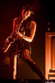 Zumi Rosow, saxofonista de The Black Lips