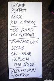 Setlist de Kurt Vile & The Violators (23/08/2014)
