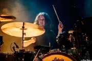 Kyle Spence, baterista de Kurt Vile & The Violators (23/08/2014)
