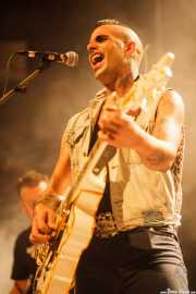 Julen Armas, cantante y guitarrista de The Weapons (23/08/2014)