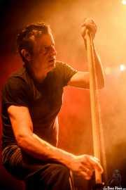 Paco Luis Martos, washtub bass, bajista y guitarrista de Guadalupe Plata (24/08/2014)