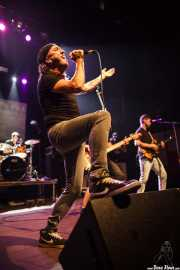 Mikel Bizar -cantante- y Jagoba Ormaetxea -guitarrista- de Jare (05/09/2014)