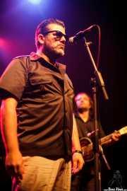 Jon Careaga -cantante- y Aitor Cañibano -guitarrista- de The Travelling Brothers (05/09/2014)