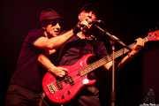 Francis Díez -cantante- y Josi Jiménez -bajista- de Doctor Deseo (06/09/2014)