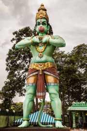Estatuas del complejo de Batu Caves (09/09/2014)