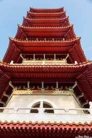 Pagoda de siete pisos en el Chinese Garden (15/09/2014)