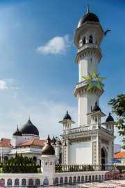 Minarete de la mezquita Kapitan Keling (22/09/2014)