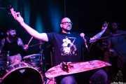 Joe Bent -bajista, cantante y Skateboard slide guitar- y Pete Dio -baterista- de Left Lane Cruiser (10/10/2014)