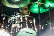 Xabier Telle, baterista de The Hammer Killers (17/10/2014)