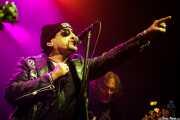 "Ross ""The Boss"" Friedman -guitarrista- y Dean ""The Dream"" Rispler -bajista- de The Dictators NYC (17/10/2014)"