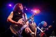 "Ross ""The Boss"" Friedman -guitarrista-, Richard ""Handsome Dick"" Manitoba -cantante- y Dean ""The Dream"" Rispler -bajista- de The Dictators NYC (18/10/2014)"