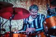 Mario Goossens, baterista de Triggerfinger (24/10/2014)