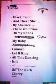 Setlist de Triggerfinger (24/10/2014)