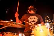 Roberto Villar, baterista de Yellow Big Machine (25/10/2014)