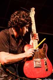 Pablo Moreno. guitarrista de Yellow Big Machine (25/10/2014)