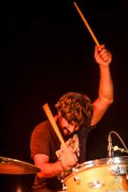 Roberto Villar, baterista de Yellow Big Machine (25/10/2014)