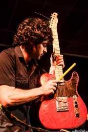 Pablo Moreno. guitarrista de Yellow Big Machine (25/10/2014)
