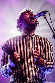 Miles Michaud, cantante y guitarrista de Allah-las, Kafe Antzokia. 2014