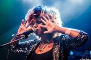 Elsa Gebremichael, cantante y teclista de We Were Lovers, Kafe Antzokia. 2014