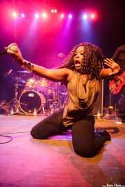 Silk-E, cantante de The Coup, Kafe Antzokia. 2014