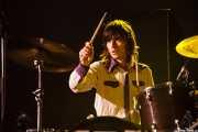 Christoffer Østergaard, baterista de Go Go Berlin, Bilbao Exhibition Centre (BEC). 2014