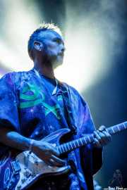Simon Ratcliffe, guitarrista de Basement Jaxx, Bilbao Exhibition Centre (BEC). 2014