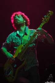 Ferdy Breton, bajista de Smile, Bilbao Exhibition Centre (BEC). 2014