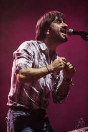 Daniel Merino, guitarrista y armonicista de Smile, Bilbao Exhibition Centre (BEC). 2014