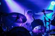 Martin Bulloch, baterista de Mogwai, Bilbao Exhibition Centre (BEC). 2014