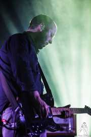John Cummings, guitarrista de Mogwai, Bilbao Exhibition Centre (BEC). 2014