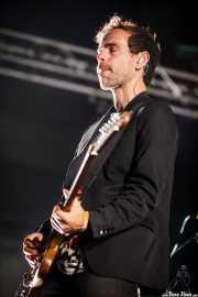 Bryce Dessner, guitarrista de The National, Bilbao Exhibition Centre (BEC). 2014