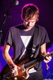 Aaron Dessner, guitarrista de The National, Bilbao Exhibition Centre (BEC). 2014