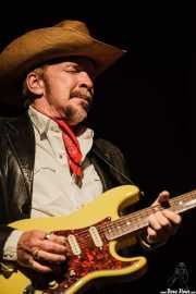 Dave Alvin, guitarrista y cantante de Dave Alvin & Phil Alvin with The Guilty Ones, Ficoba. 2014