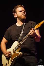 Matt Hill, guitarrista de Nikki Hill, Ficoba. 2014