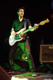 Danilo Foronda, bajista de The Allnighters, Sala Cúpula (Teatro Campos Elíseos). 2014