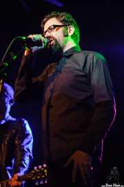 Luke Donovan, cantante y guitarrista de Cycle, Sala Stage Live (Back&Stage). 2014