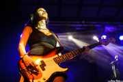 Beth-Ami Heavenstone, bajista de Graham Bonnet, Sala Stage Live (Back&Stage). 2014
