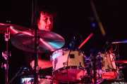 Adam Perry, baterista, de Mick Ralphs Blues Band, Sala BBK. 2014