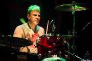 Steve Grantley, baterista de Stiff Little Fingers, Kafe Antzokia. 2014