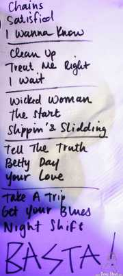 Setlist de The Buttshakers, Kafe Antzokia. 2014
