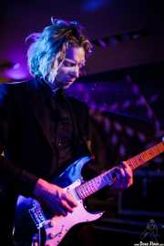 Tomas Gons, guitarrista de The Drip Dry Man & The Beat Revolver, Satélite T. 2014