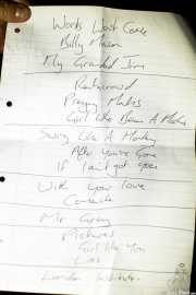 Setlist de The Len Price 3, Purple Weekend Festival. 2014