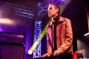 """Denis """"D-Day"""" Troufleau, teclista de The Gentlemen's Agreements, Purple Weekend Festival. 2014"""