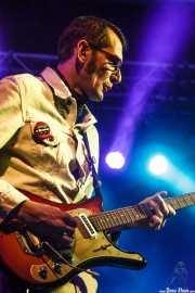 """Vincent """"VanGogo"""" Vidor, guitarrista de The Gentlemen's Agreements, Purple Weekend Festival. 2014"""