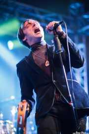Barnaby Street Weissmuller, cantante de The Gentlemen's Agreements, Purple Weekend Festival. 2014