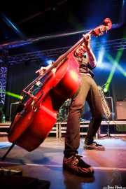 Ivan Kovacevic, contrabajista de Los Mambo Jambo, Purple Weekend Festival. 2014