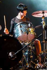 Daniela Kennedy, baterista de Jack Riviera & The R&B Sect, Purple Weekend Festival. 2014