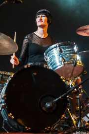 Daniela Kennedy, baterista de Jack Riviera & The R&B Sect, Purple Weekend Festival. 2014