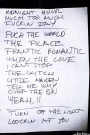 Setlist de Los Eskizos, Purple Weekend Festival. 2014